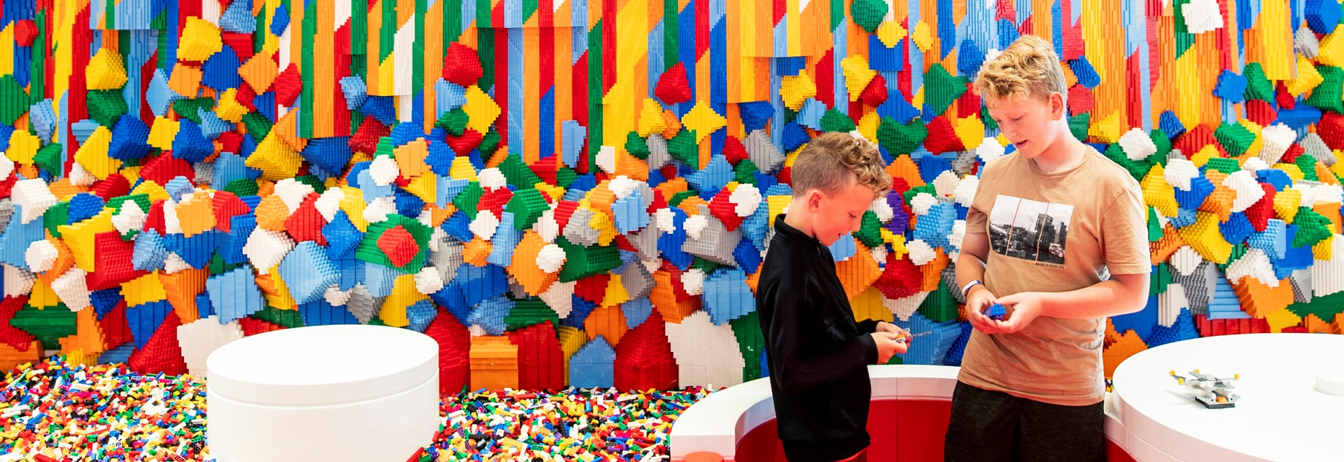 We're celebrating creativity in LEGO House 4 Sept. - 6 Oct.