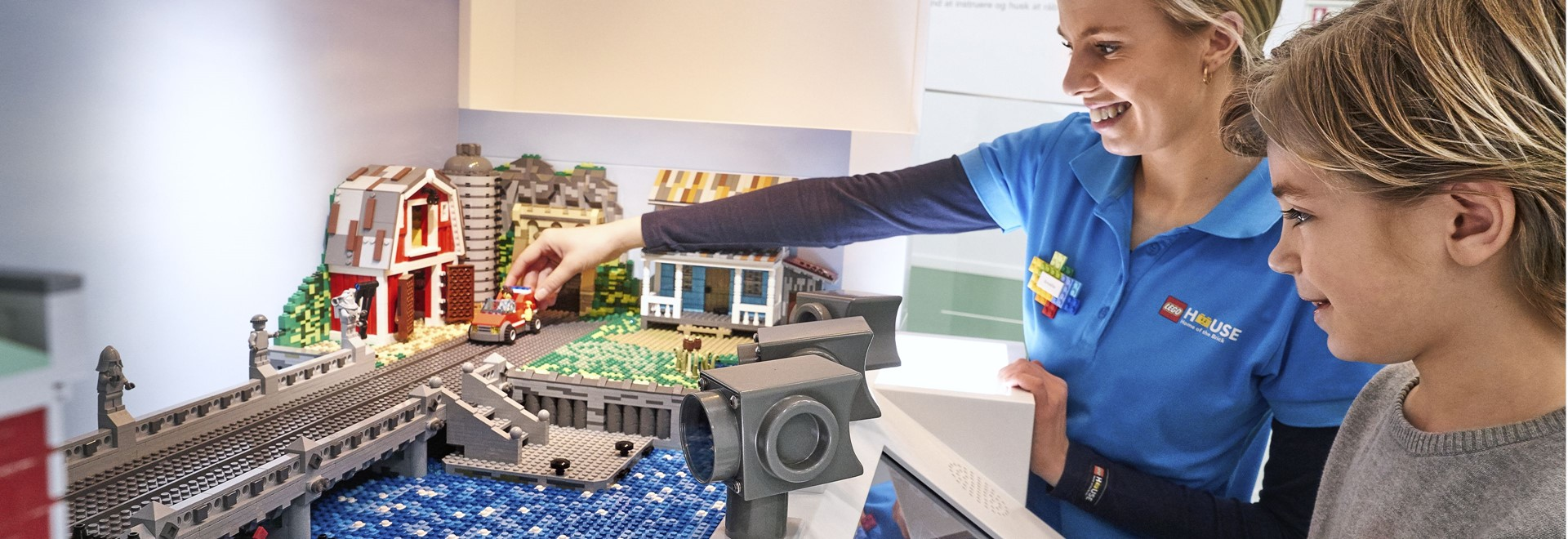 Oplevelser i LEGO House - Green Zone