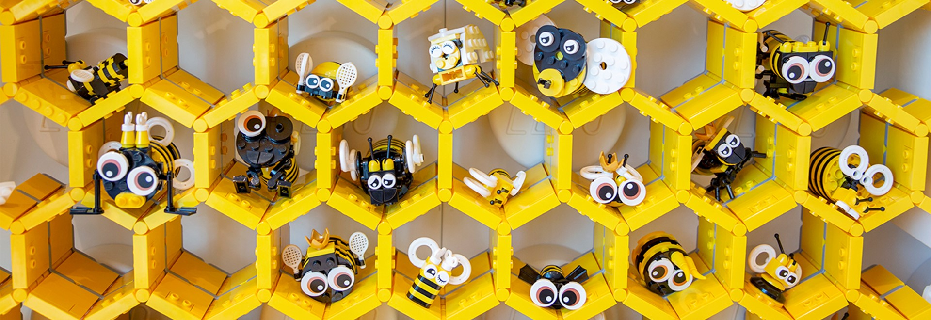 Build LEGO bees in Creative Lab in LEGO House.